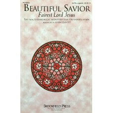 Beautiful Savior for SATB Choir