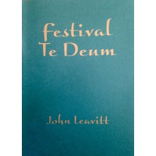 FESTIVAL TE DEUM FULL SCORE/PARTS