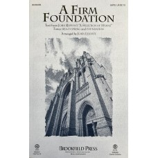 A Firm Foundation SATB