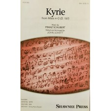 Kyrie from Mass in G by Schubert (SSA)