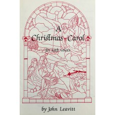 A Christmas Carol SATB and keyboard